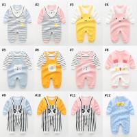 Jumper Romper Bayi 3 Bulan - 2 Tahun Baby Jumpsuit Baju Kodok Anak 1