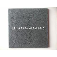 BATU ALAM ANDESIT RTM BAKARAN 40 X 40 X 1,5 Cm