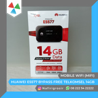 MODEM MIFI HUAWEI E5577 SLIM BYPASS UNLOCK FREE TELKOMSEL 14GB