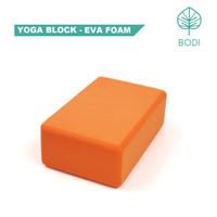 Yoga Block / Balok Yoga / Yoga Brick | Orange - EVA Foam