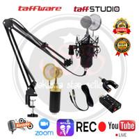 Microphone Bm 8000 / Mic Condenser Bm 8000 Stand arm Splitter