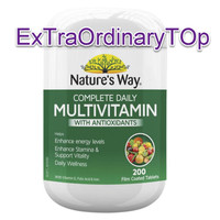 NATURES WAY Complete Daily Multivitamin Antioxidants NATURE'S WAY