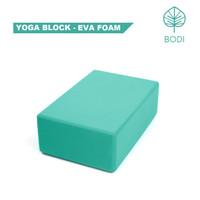 Yoga Block / Balok Yoga / Yoga Brick | Green - EVA Foam