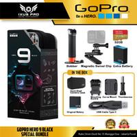 GoPro Hero 9 Black SPECIAL BUNDLE Action Camera Go Pro Hero 9 Black