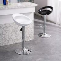 kursi bar/kursi cafe/cafe chair/bar chair/kursi tinggi/kursi santai - Hitam