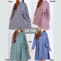 Baju muslimah polos style korea size jumbo baju hamil baju busui XXXL