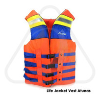 Life Jacket Vest Atunas Pelampung Snorkeling Baju Rompi Safety