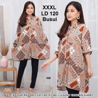 Baju hamil motif baju tunik muslimah busui size jumbo XXXL bahan adem