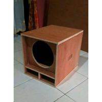 Box speaker mini scoop 6 inch singgle
