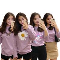 Tumbrl Tee Longsleeve Lilac Special Edition Pakaian wanita - kupu