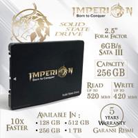 SSD IMPERION 256GB SATA III 2.5 6GB/S GARANSI RESMI - Bukan SSD 240GB
