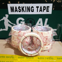 "LAKBAN KERTAS/MASKING TAPE 1""(24MM × 16M) MURAH!! BEST QUALITY"