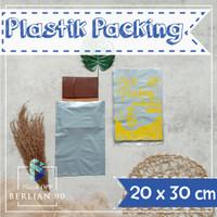 PLASTIK HD TANPA PLONG 20X30 CM / PLASTIK PACKING ONLINE