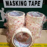 "LAKBAN KERTAS/MASKING TAPE 2""(48MM × 11M) MURAH!!! BEST QUALITY"
