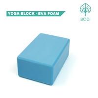 Yoga Block / Balok Yoga / Yoga Brick | Blue - EVA Foam