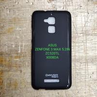 silikon capdase karet hitam asus zenfone 3 max 5,2in pegasus zc520tl