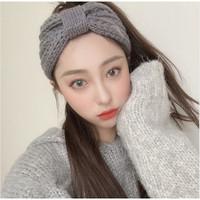 R212 Bando Headband Rajut Wool Pita / Head Band Cantik Korea