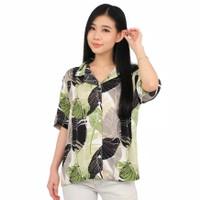 BM - Amy Tropical Tshirt Baju Kemeja Wanita Casual LNM