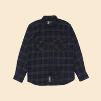 Kemeja Flanel Lengan Panjang Monochrome LS Doppio Shirt
