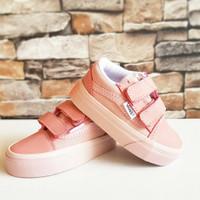 Vans Old Skool Peach Sepatu Anak Perempuan 16-35