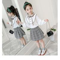setelan baju anak perempuan Import Suncloud - Putih, 6 tahun