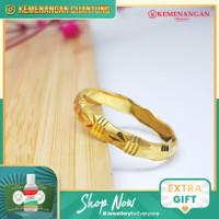 Cincin Emas Model Ukir Daun Gold #295A