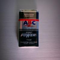 batu batre ABC 9 volt super power / battery / baterai