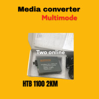 Media Converter Transceiver Multi-Mode HTB-1100 2-5KM SC 10 / 100Mbp