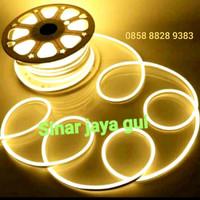 Lampu Neon Flex LED Selang Flexible Sign Strip WARM WHITE