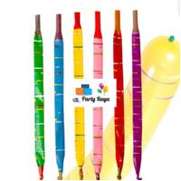 balon roket panjang per pack