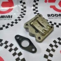 Intake Membran Motor Mini Trail, Mini GP, Mini ATV mesin 50cc 2tak
