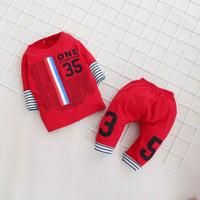 Setelan Baju Celana Anak Bayi Laki Laki Usia 6 Bulan - 5 Tahun Murah