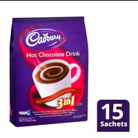 Cadburry 3 in 1 Hot Chocolate Drink Import Malaysia