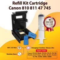 Refill Tool Kit Penyedot Sedot Tinta Cartridge Canon PG 810 CL 811