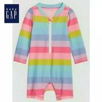 Baju anak perempuan renang BABY GAP pelangi