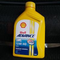 Shell Advance 15W - 40 AX5 0.8 Liter 4T