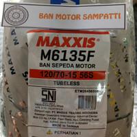 Ban Motor Maxxis M6135F Uk. 120/70 Ring 15 Tubeless