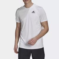 Adidas tennis tenis club 3-striples kaos baju tshirt