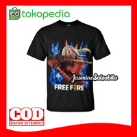 KAOS FREEFIRE BAJU FF KAOS FREE FIRE GARENA ff18 KAOS anak dan dewasa