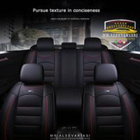 Sarung jok mobil Nissan march bahan MYO Interior Leather Medium