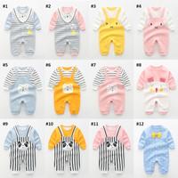 Jumper Romper Bayi 3 Bulan - 2 Tahun Baby Jumpsuit Baju Kodok Anak 2