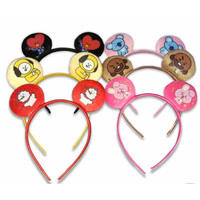 Bando BT21 BTS Pitta Glitter Headband Korea KPOP