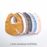 Linen Bibs 1 with Waterproof - SugarBibs