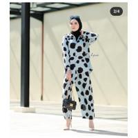 One set muslim / setcel mulis / baju muslimah / setcel rayon / pijamas