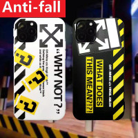 CASE IPHONE OFF-WHITE 6/7/8/11/12/S/PLUS/PRO/X/XR/XS/MAX