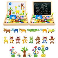 Mainan Edukasi Papan Magnetic Puzzle / Papan Tulis Magnet Premium