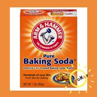 Baking Soda Arm and Hammer / Pure baking soda / Soda Kue USA 454g