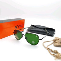 Kacamata/Sunglasses Pria American Optical AO Polarized Pilot Aviator S
