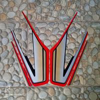 stiker striping motor yamaha Rx king 1993 merah