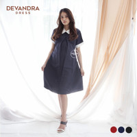 FREE CD HAMIL - Baju Hamil Dress Ibu Hamil Menyusui Kerja - DRO 814